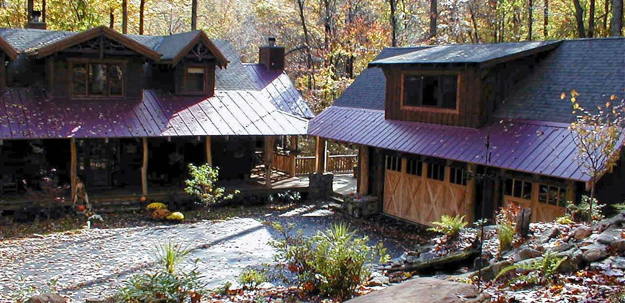 Dearman mountain homes custom built log homes and for Custom mountain homes